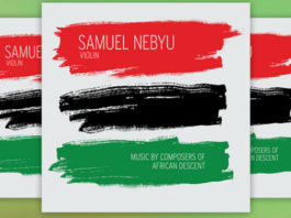 Samuel Nebyu CD Giveaway Cover