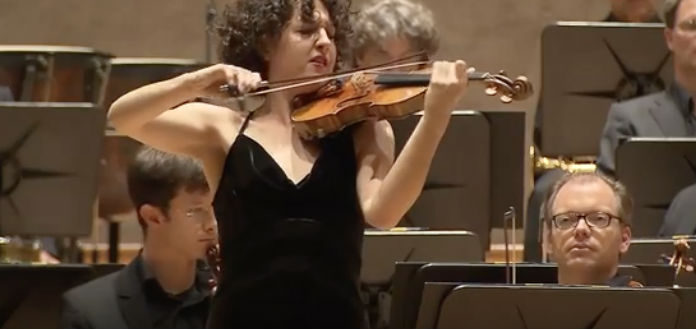Sarah Christian ARD Violin Competition Cover