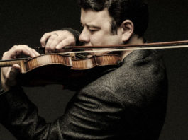 Vadim Gluzman Violin Violinist Cover