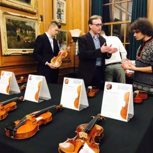 2017 Contemporary Violin Makers Exhibition Showcase