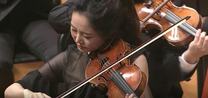 Bomsori Kim Bruch Violin Concerto Cover