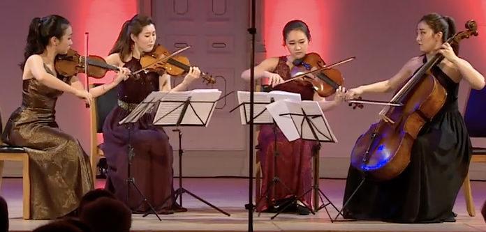 NEW TO YOUTUBE | Esmé Quartet - 2017 Trondheim Chamber Music Comp ...