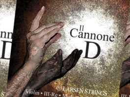 Larsen Il Cannone Violin Strings Cover
