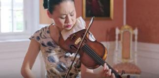Midori Bach Chaconne Violin Violinist Cover