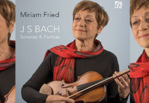 Miriam Fried Bach CD