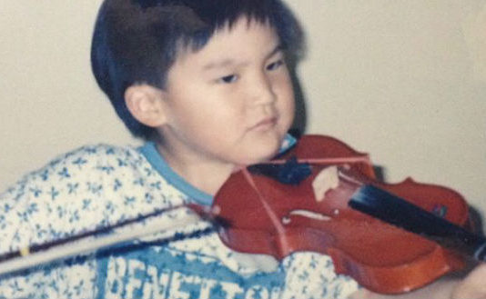 Ray Chen Violin Violinist Young Baby 4 Cover
