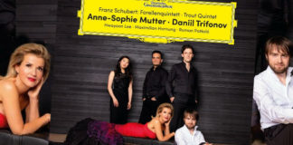 Anne-Sophie Mutter Daniil Trifonov Cover