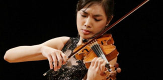 Isangyun International Violin Competition Finalists Cover