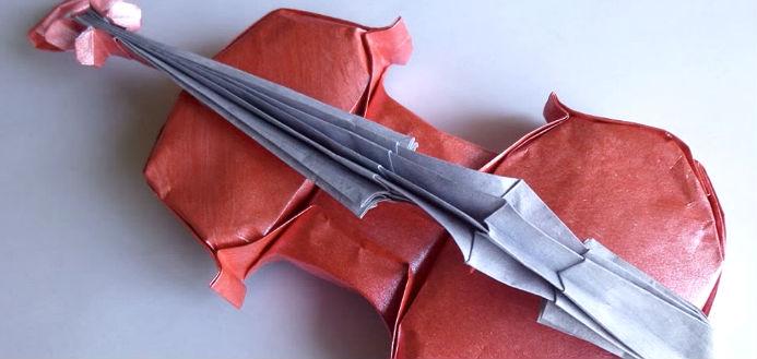 Origami Violin