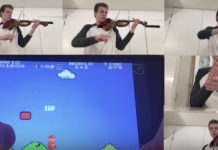 Super Mario Bros Violin