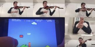 Super Mario Bros Violin