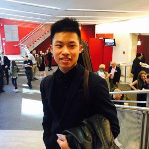 VC Backstage - Kerson Leong