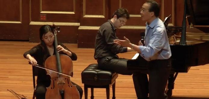 Yo-Yo Ma Elgar Concerto Masterclass