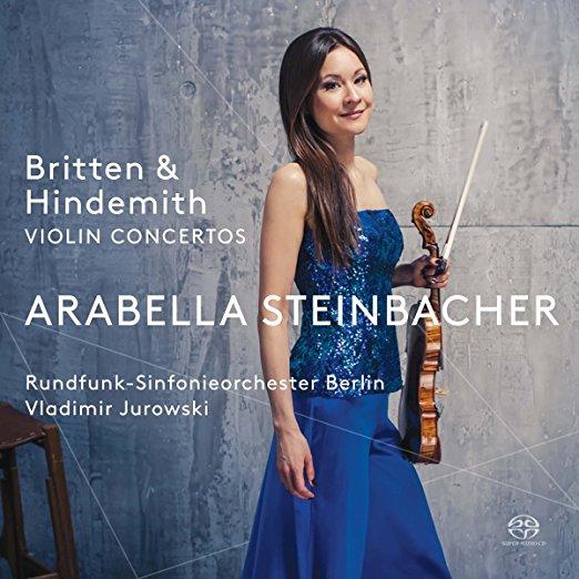 Today is German Violin Virtuoso Arabella Steinbacher's