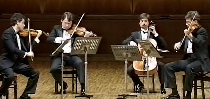 NEW TO YOUTUBE | Emerson String Quartet - Mozart's String Quartet No