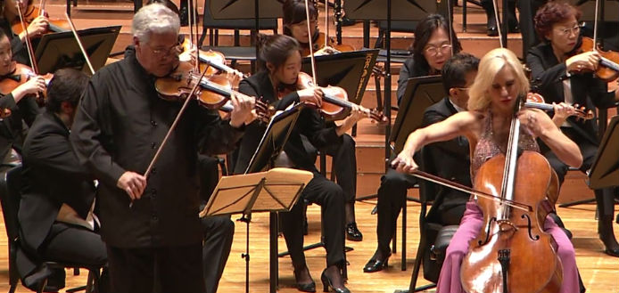 Brahms Double Concerto - New to Youtube
