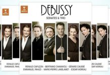 Debussy Sonatas and Trios Cover 2