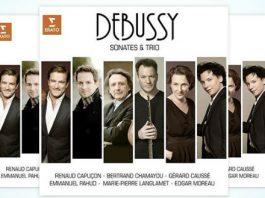 Debussy Sonatas and Trios Cover 2