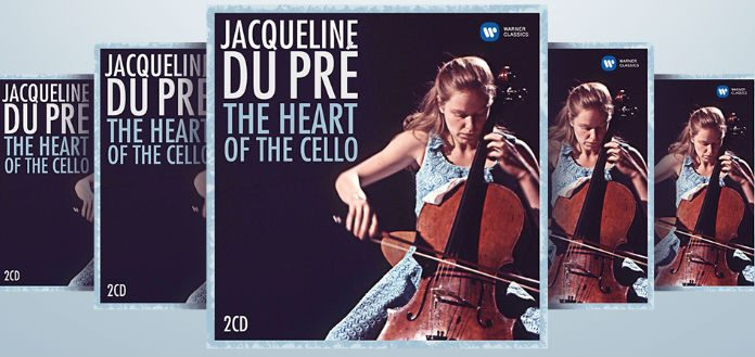 Jacqueline Du Pre Warner Classics Heart of Cello CD Giveaway Cover 2