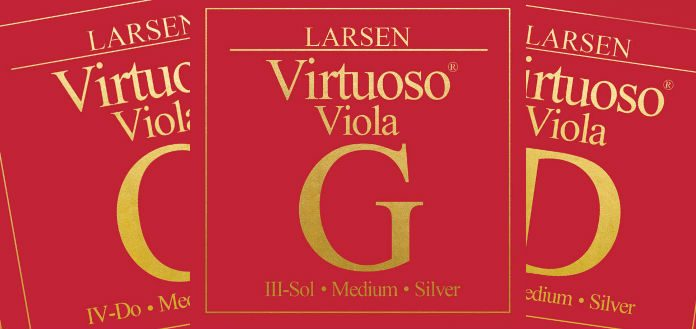 Larsen Virtuoso Strings for Viola