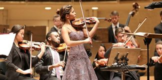 Maya Buchanan Violin Violinist Cover