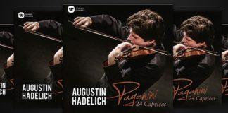 Augustin Hadelich Paganini Caprice Cover