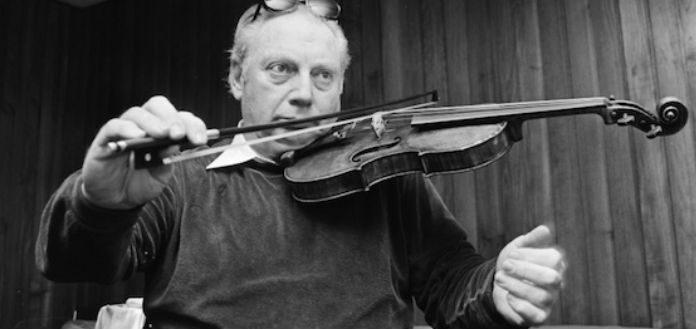 Isaac Stern Violin Violinist Cover