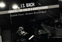 Isabelle Faust Bach CD Cover