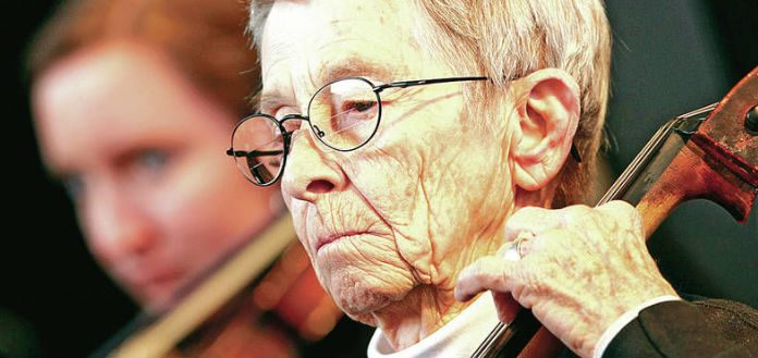 Jody Ellis Cellist Santa Fe Community Orchestra Cover