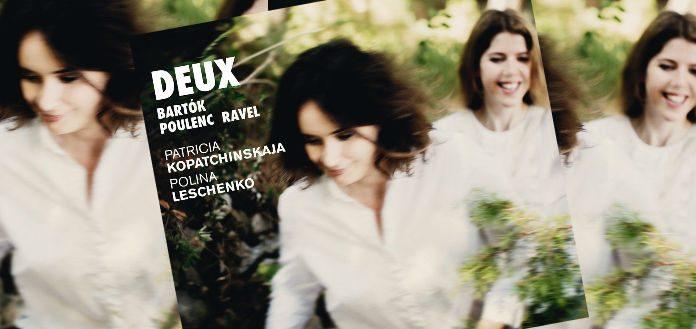 Patricia Kopatchinskaja Deux Cover