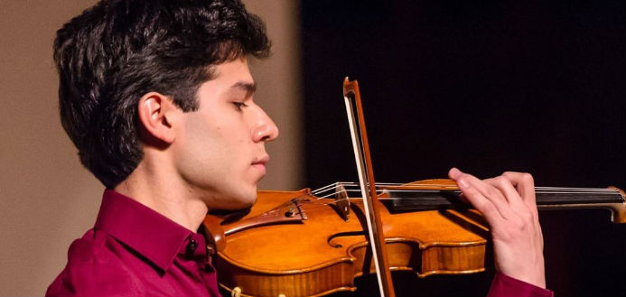 Ruben Rengel violinist cover