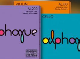 Thomastik Infeld Alphayue Violin Cello String Set Cover