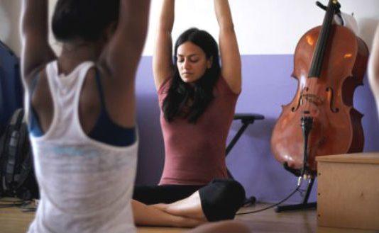 Violin Yoga Cover