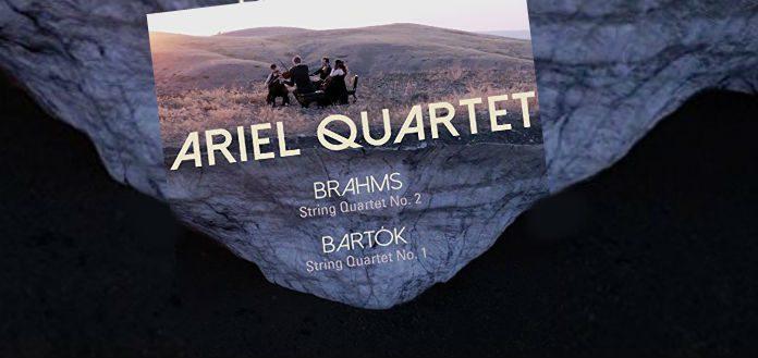 Ariel Quartet Bartok Brahms Cover