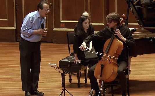 Barber Cello Concerto Masterclass