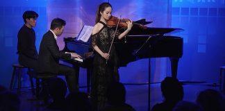 Bomsori Kim Ravel Violin Sonata WQXR Cover