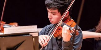 Donghyun Kim Seoul International Violin Competition Cover