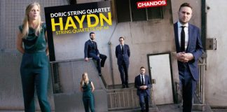 Doric String Quartet Haydn Chandos CD Out Now Cover