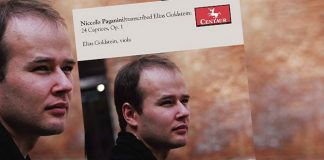Elias Goldstein Paganini 24 Caprices Cover
