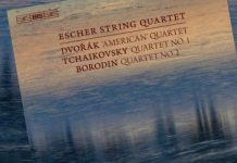 Escher String Quartet CD Cover