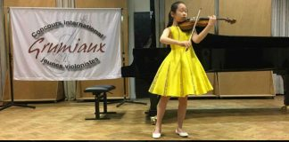 Eun Seo Cho Grumiaux International Violin Competition Cover