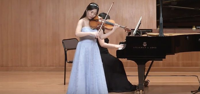 Eunbin Lee Violist Cover