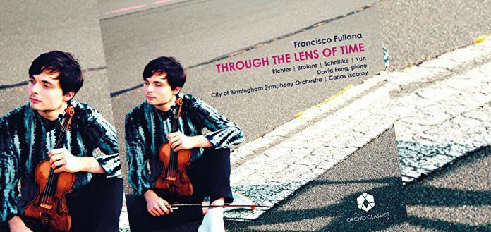 Francisco Fullana Through the Lens of Time Cover