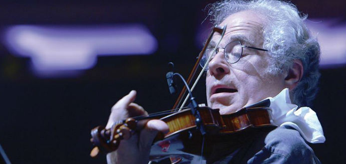 """Eröffnete 2018 das Festival: """"Itzhak Perlman - Ein Leben für die Musik"""""""