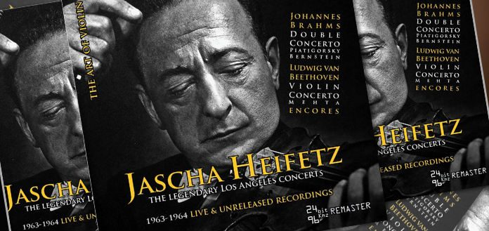 Jascha Heifetz CD Set Cover