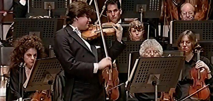 Julian Rachlin Violin Violinist 1995 Cover