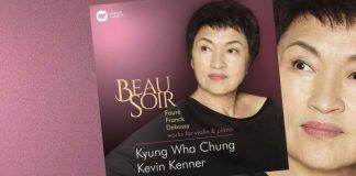 Kyung Wha Chung Beau Soir Warner Classics Cover