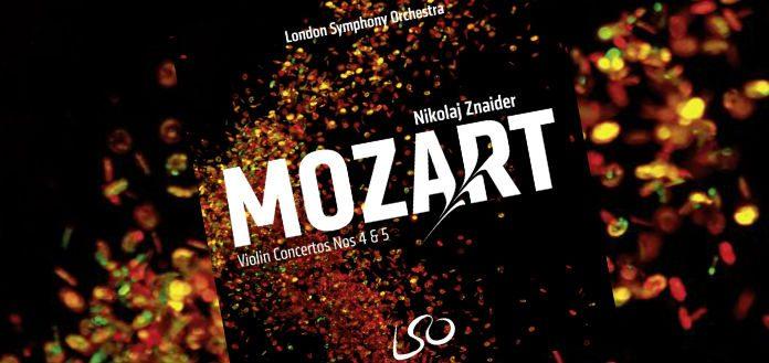 Mozart Nikolaj Znaider London Symphony Cover