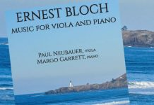 Paul Neubauer Bloch Viola Cover