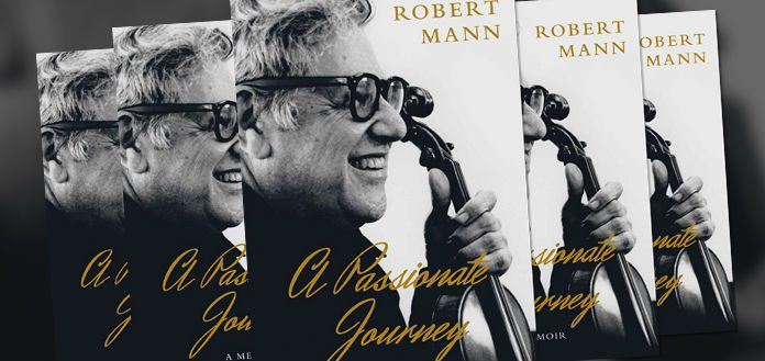 Robert Mann Passionate Journey Memoir Cover